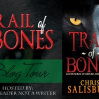 Blog Tour: Tens List & Giveaway – Trail of Bones