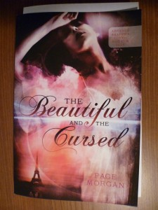 My ARC of The Beautiful and the Cursed by Page Morgan