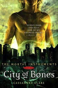 The cover of City of Bones
