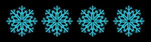 4 Snowflakes