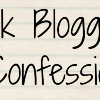 The Book Blogger Confessions Tag
