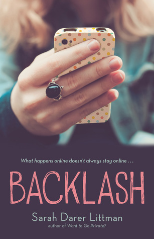 Waiting on Wednesday – Backlash by Sarah Darer Littman