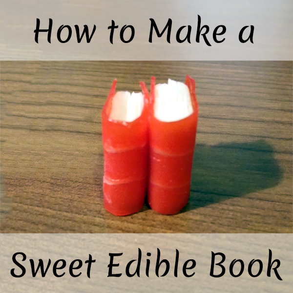 How to Make a Sweet Edible Book