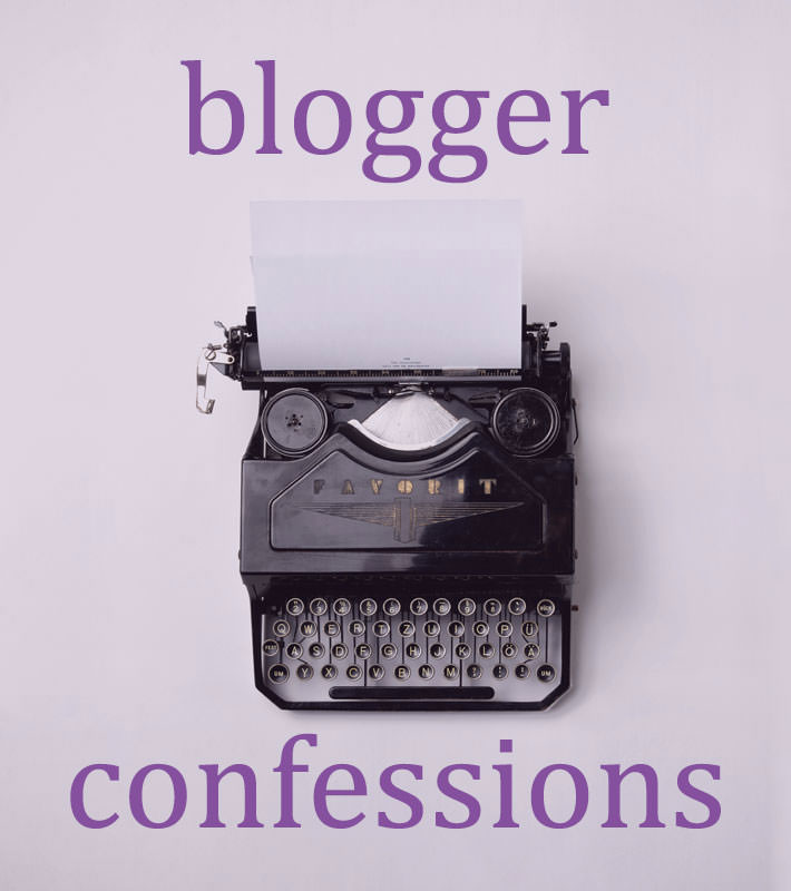 Blogger Confessions – I'm a moody blogger