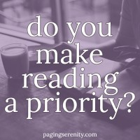Do you make reading a priority?
