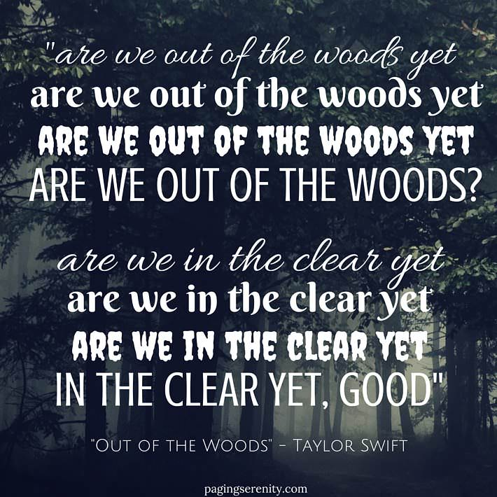 Out of the Woods Taylor