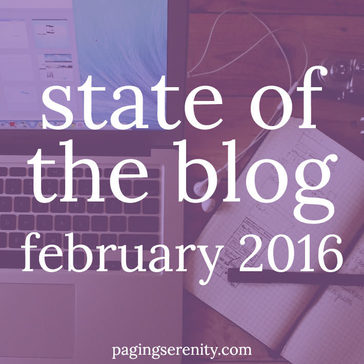 State of the Blog – February 2016