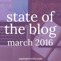 State of the Blog – March 2016