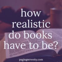 How Realistic Do Books Have to Be?