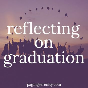 Reflecting on Graduation