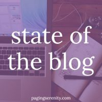 State of the Blog – Updates & News
