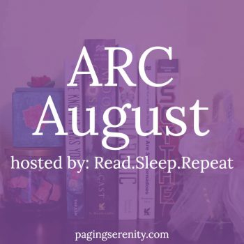 Freaking Out About ARC August 2016