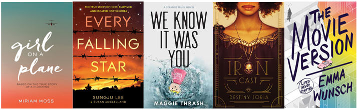 First five books I want to read for ARC August