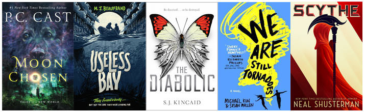 The other five books I want to read for ARC August