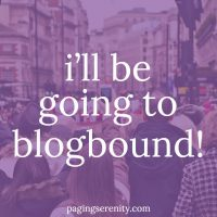 I'll Be Going to @blogboundcon on Sunday!