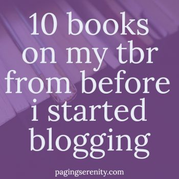 Books That Are Still on My TBR After Four Years