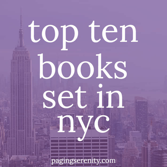 Top ten books set in NYC