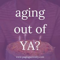 Aging Out of YA?