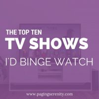 Shows I'd Binge Watch Anytime, Anywhere