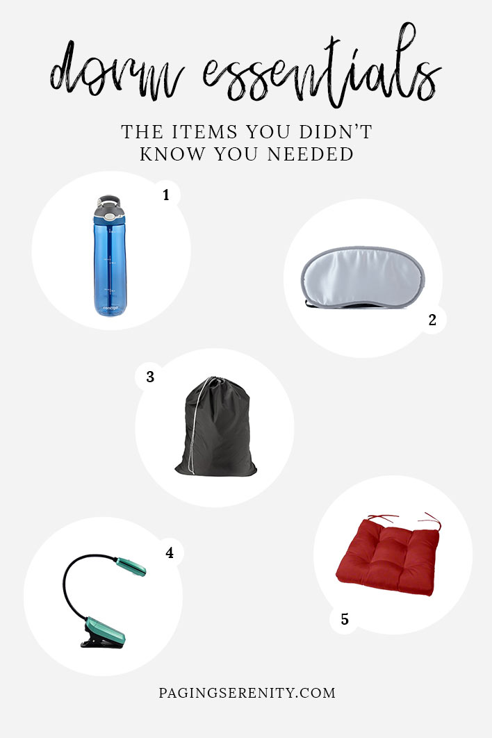 5 Dorm Essentials You Didn't Know You Needed