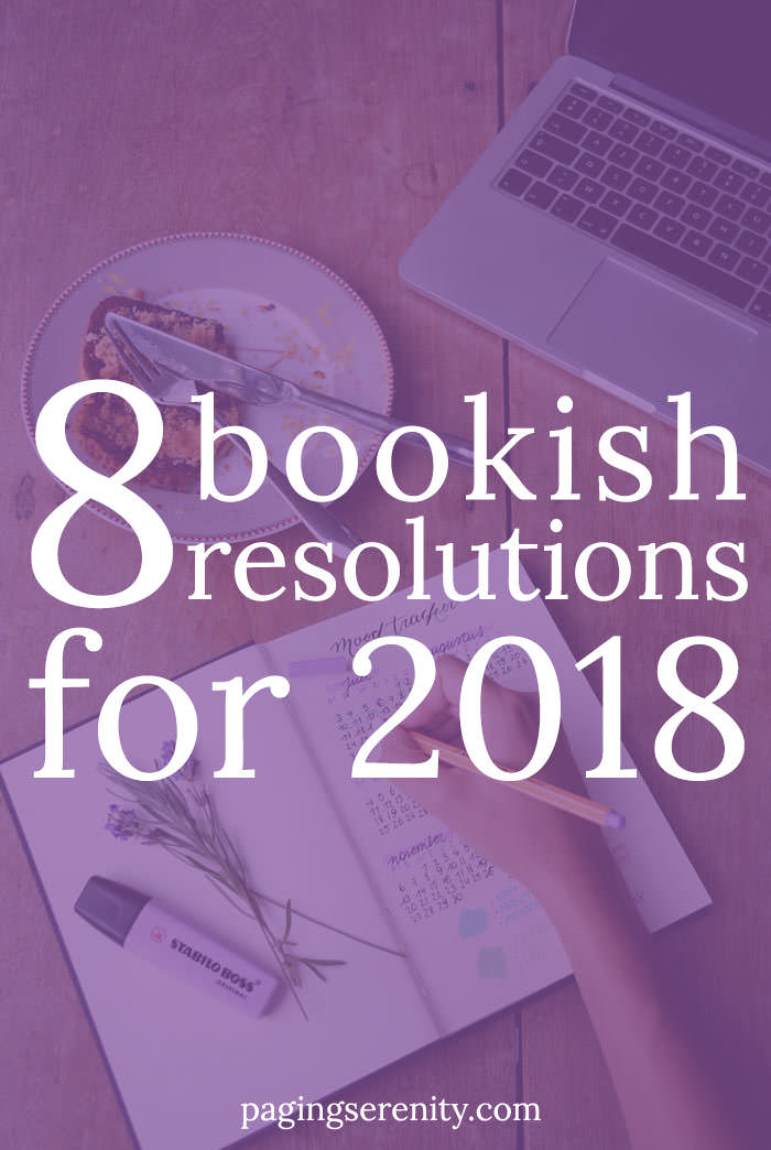 8 Bookish Resolutions for 2018