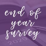 2020 end of year survey